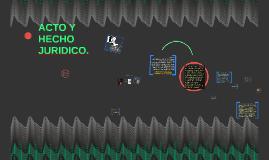 ACTO Y HECHO JURIDICO.
