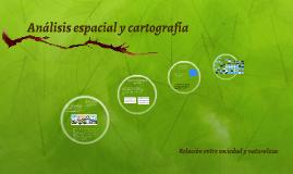 Análisis espacial y cartografía