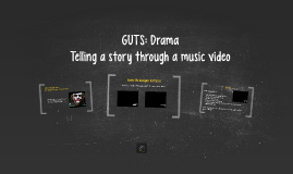 Telling a story through a music video
