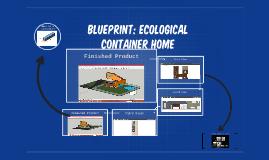 Blueprint: Ecological