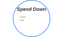 Spend Down