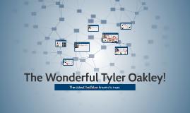 The Wonderful Tyler Oakley!