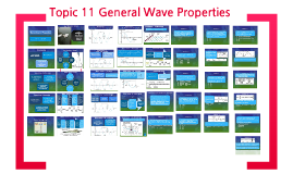 Topic 11 General Wave Properties