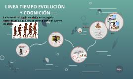 LINEA TIEMPO EVOLUCIÓN Y COGNICIÓN