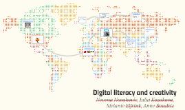 Digital literacy and creativity
