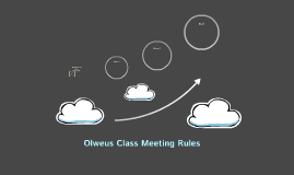 Olweus Class Meeting Rules