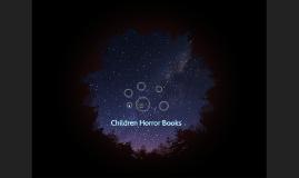 Children Horror Books