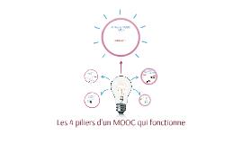 Les 4 piliers d'un MOOC qui fonctionne