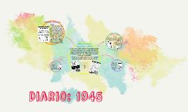 Diario: 1945