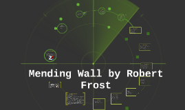 Copy of Mending Wall by Robert Frost