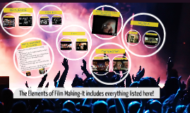 The Elements of Film Making