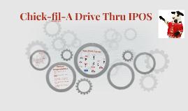 Chick-fil-A Drive Thru IPOS