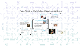 drug testing of student athletes essay Why we should drug test in sports many professional athletes of this day in age are accused of doping, which is the illegal use of steroids steroids are.
