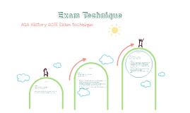 AQA History GCSE Exam Technique Part B