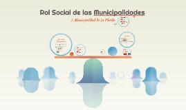 Rol Social de las Municipalidades