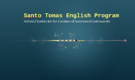 Santo Tomás English Program