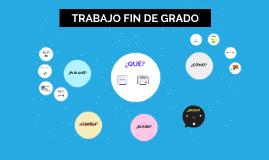 TRABAJO DE FIN DE GRADO