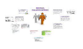 Individual Evaluation Methods in Performance Appraisal