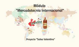"""Módulo """"Mercadotecnia Internacional"""""""