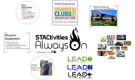 STAC  Honors Student Presentation (Admissions)