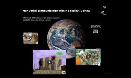 Psy - NVC - reality tv shows