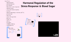 9.3: Hormonal Regulation of the Stress Response & Blood Sugar