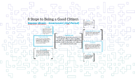 8 Steps to Being a Good Citizen