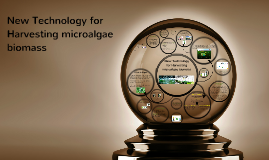 Copy of New Technology for Harvesting :microalgae biomass