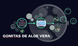 GOMITAS DE ALOE VERA