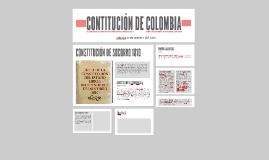 CONTITUCIÓN DE COLOMBIA
