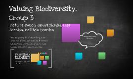 Valuing Biodiversity-Discussion 3