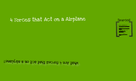 Forces that act on a plane
