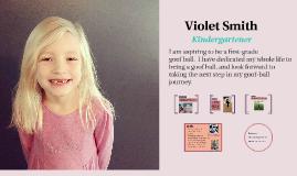 Violet's Prezume (example)