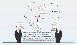 MEJORAMIENTO, MANTENIMIENTO Y REHABILITACIÓN DE OBRAS DE DIS