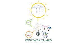 OFERTA EXPORTABLE DE LA PALTA