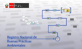 Registro Nacional de Buenas Prácticas Ambientales