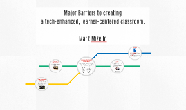 Major Barriers - Learner Centered Classroom