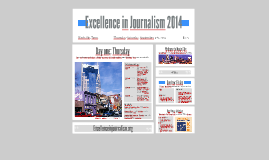 Excellence in Journalism 2014