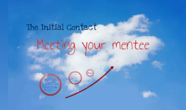 Copy of Initial Contact: Meeting your mentee