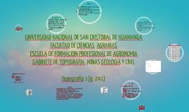 """Copy of """"LEVANTAMIENTO TOPOGRAFICO DE PEQUEÑAS PARCELAS Y CURVAS DE"""