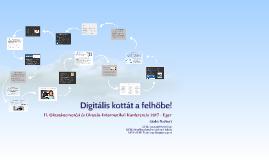 Digitális kottát a felhőbe!