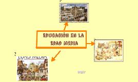 Educación en la Edad Media