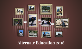 Alternate Education 2016