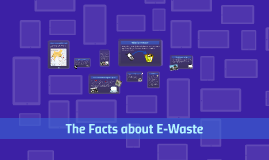 The Facts about E-Waste