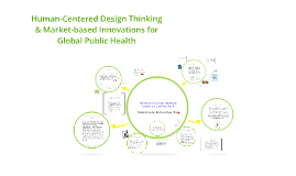 Human Centred Design Thinking for Innovations in Global Public Health