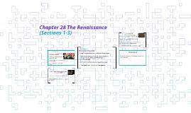 Chapter 28 The Renaissance