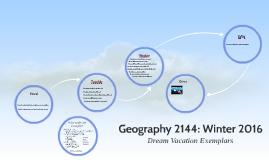 Geography 2144: Winter 2016 Review Prezi