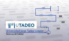 Universidad Jorge Tadeo Lozaño