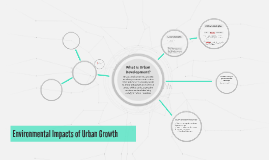 Environmental Impacts of Urban Growth