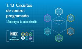 T.13 Circuitos de control programado